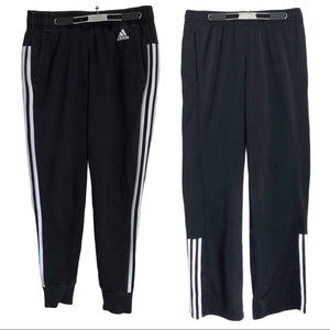 2 Pairs Adidas Joggers and Sweat Pants Athletic